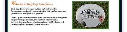 Golf Cup Enterprises Design Sample